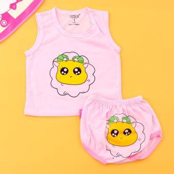 Combo 05 bộ quần áo BA LỖ cotton cho bé yêu Chipxinhxk