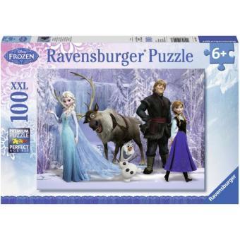 Xếp hình Puzzle Công chúa Tuyết Frozen 100 mảnh - Ravensburger 10516