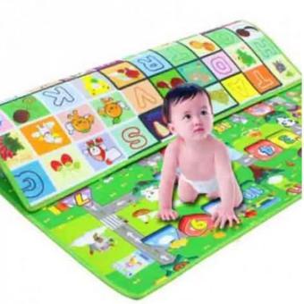 Thảm chơi 2 mặt cho bé Maboshi cỡ 1,8m dày