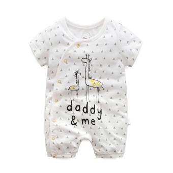 Body đùi First Movement size cho bé 3-18 tháng Giraffe Daddy & Me