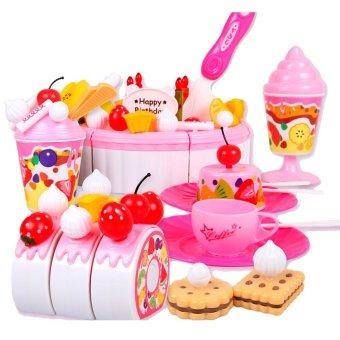 Bộ đồ chơi bánh Gato sinh nhật Luxury 81