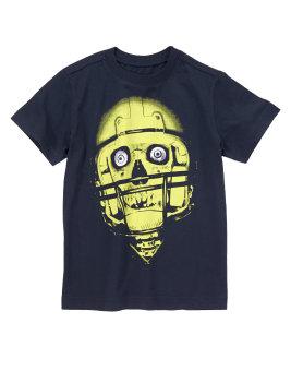 Áo thun bé trai Crazy8 Skull Helmet 2039930