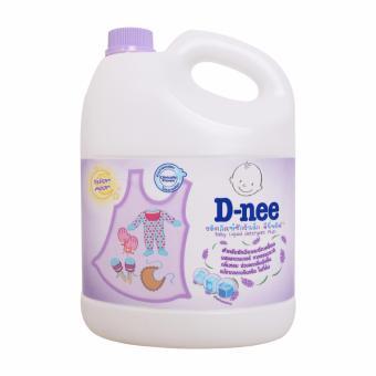 Nước giặt xả D-nee tím 3L