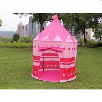 Lều lâu đài Công chúa (Hồng)