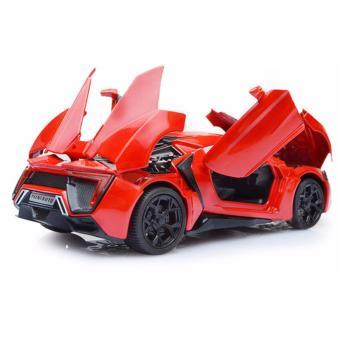Đồ chơi mô hình ô tô thể thao bằng hợp kim tinh xảo