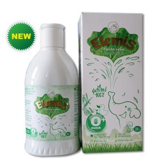 Nước tắm gội thảo dược cho trẻ sơ sinh và trẻ nhỏ ELEMIS 200ml