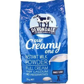 Sữa tươi dạng bột nguyên kem Devondale Full Cream 1kg