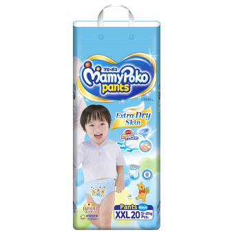 Tã quần Mamy Poko XXL20 (Boy)