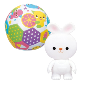 Bộ đồ chơi bóng lục lạc và chút chít thỏ trắng Toyroyal