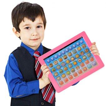 Máy tính bảng học đánh vần cho bé