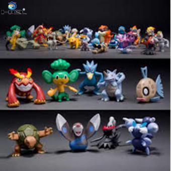 Bộ 72 tượng thú Pokemon Go cao 2-3cm ngẫu nhiên HQ 3TI91 (nhiều màu)