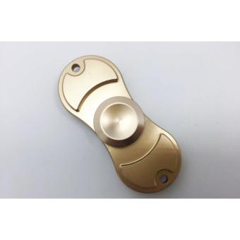 Con quay 2 cánh Fidget Spinner cao cấp giảm stress màu vàng( Hàng chất lượng loại 1)