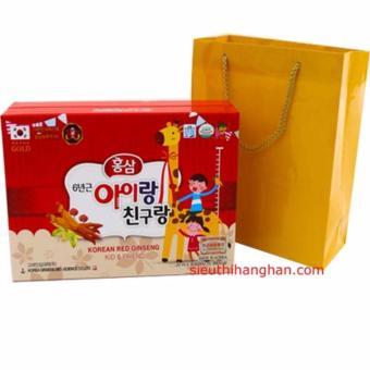 Nước Hồng Sâm trẻ em Baby Bio Gold Kids Hàn Quốc 20ml x 30 gói.