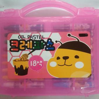 Vali sáp màu dầu OIL PASTEL 18 màu sắc của Hàn Quốc