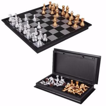Bộ cờ vua gắn nam châm gập gọn TDHome - ( vàng)