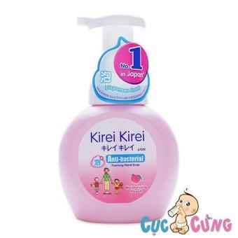 Bọt rửa tay KIREI KIREI 250ml - Hương đào - Chai