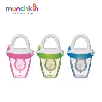 Túi tập ăn dặm cho bé silicone Munchkin MK24182(Hồng)