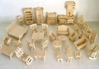 Đồ chơi ghép hình 3D cho bé bằng gỗ 184 chi tiết
