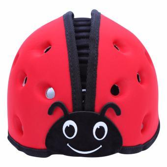 Mũ Bảo Vệ Đầu Cho Bé Guardian Angel Hình Bọ Cánh Cam ( màu đỏ)