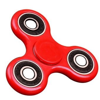 Portable Steel Beads Bearing Tri-spinner Fidget Toy Relieves Stress Anxiety Hand Fidget Spinner EDC Focus Toy for Children Adults Anxiety Attention Style D - intl
