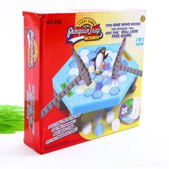 Bộ đồ chơi phá băng bẫy chim cánh cụt.