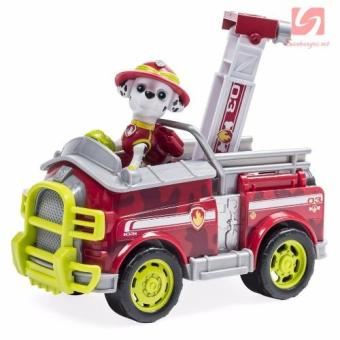 Đồ chơi xe cứu hỏa và chó Marshall nhanh nhẹn Paw Patrol