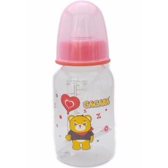Bình sữa cacara 140ml cho bé có van chống sặc hàng VN đạt chuẩn FDA của Mỹ