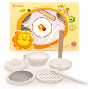Bộ chế biến ăn dặm Simba 7 món - P9601 (Đài Loan)