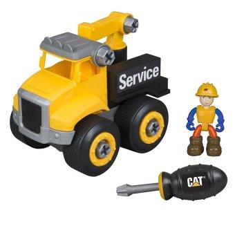 Đồ chơi lắp ráp CAT Xe tải kéo và công nhân