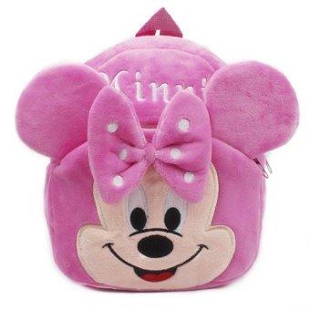 Balo chuột Minie màu hồng loại nhỏ