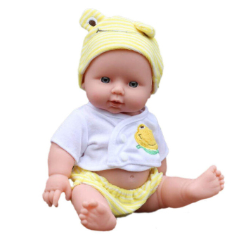 Reborn Baby Doll Soft Vinyl Silicone Lifelike Newborn Baby for Girl Gift