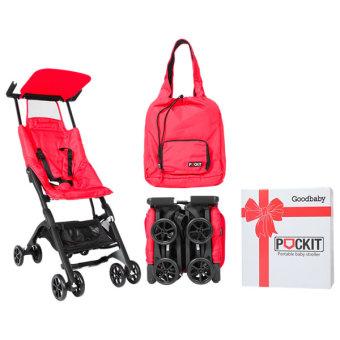Xe đẩy em bé du lịch GB POCKIT (Đỏ)