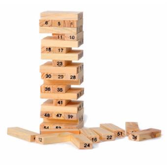 Bộ đồ chơi rút gỗ 54 miếng CT280 (Nâu)
