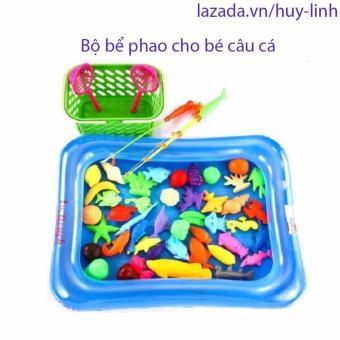Bộ bể phao câu cá cho bé (mầu ngẫu nhiên)