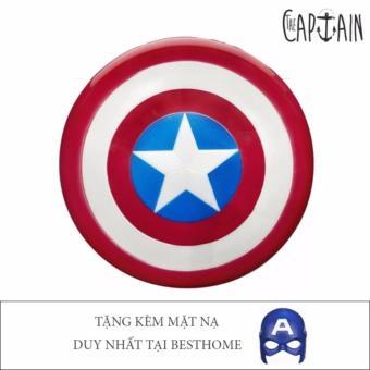 Khiên Captaint America tặng kèm mặt nạ P24