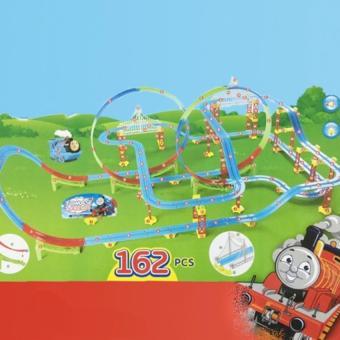 Bộ đồ chơi trẻ em đường ray xe lửa cỡ lớn