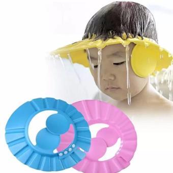 Mũ gội đầu chăn nước có vành tai cho bé
