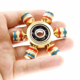 Con quay Fidget Spinner 6 cánh bánh lái cực đẹp