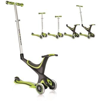 Xe trượt scooter GLOBBER MY FREE 5 IN 1 (Xanh lá)