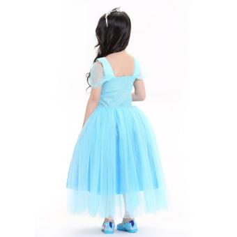 Váy Công Chúa Elsa Baby Hóa Trang Halloween Queenie
