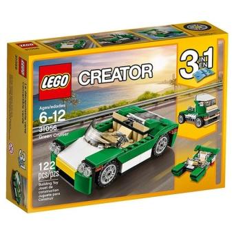 (Quà tặng không bán) Bộ Lego Creator 31056 Xe mui trần 122 chi tiết
