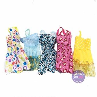 Bộ 5 váy đẹp cho búp bê