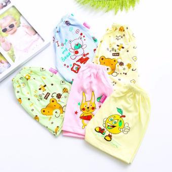 Combo 10 quần đùi cotton cho bé Chipxinhxk