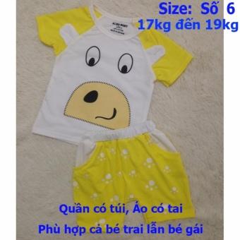 Quần áo trẻ em CityKids BTE027 (Màu vàng)