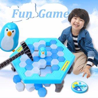 Bộ trò chơi bẫy chim cánh cụt - phá băng cực vui nhộn Penguin Trap