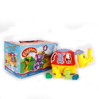 Đồ chơi voi thổi bóng phát nhạc cho bé