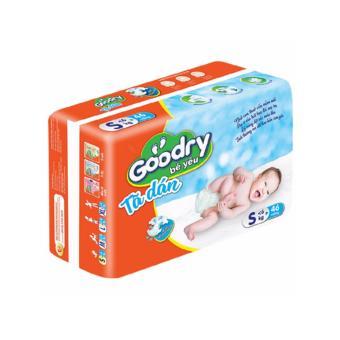 Tã dán Goodry size S (< 6kg) 46 miếng