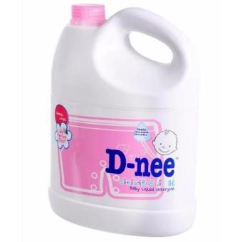 Nước giặt xả quần áo Thái Lan Dnee 3000ml - (hồng) - có tem phụ của Đại Thịnh