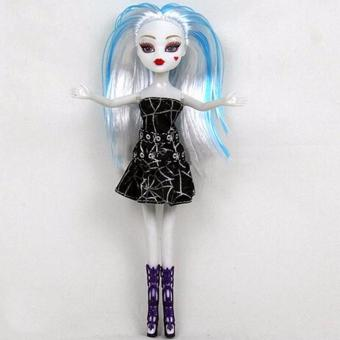 Fancyqube Barbie Monster High Quality Girls Plastic Classic Toys Gifts Coffee - intl