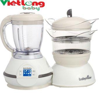 Máy hâm nóng, tiệt trùng, xay hấp thức ăn Nutribaby 5 in 1 BM14213 (Kem)